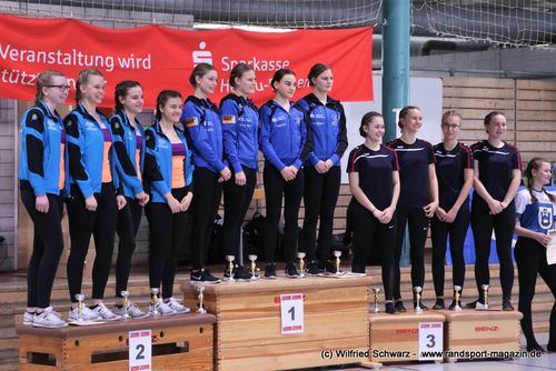 BaWü 2020 4er Einrad Juniorinnen