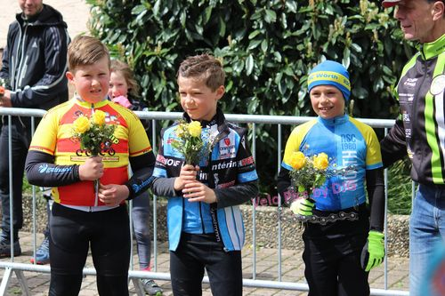 39. Radrennen rund in Kartung leidet unter Aprilwetter