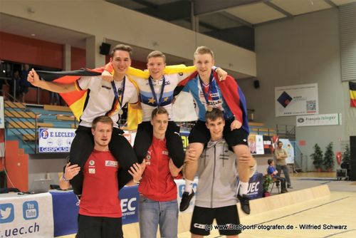 1er Junioren  EM 2019
