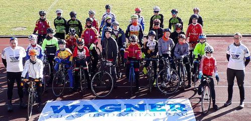 Erneuter Radrennsport Schüler Lehrgang an der Landessportschule Albstadt