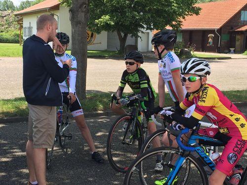 Vorbereitung 4er Training mit Moritz Backofen