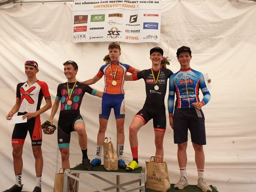 Mountainbike - Glückwunsch an Lennart Krayer zum Meistertitel U19
